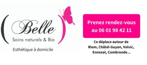 logo BELLE Esthétique à Domicile